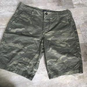 Aeropostale camouflage cargo shorts men